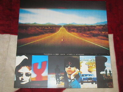 JESUS AND MARY CHAIN - Stoned & Dethroned Rare german LP