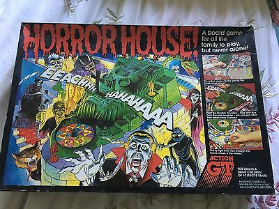 Horror House Action GT ~ Vintage Board Game ~ Only Missing Sword