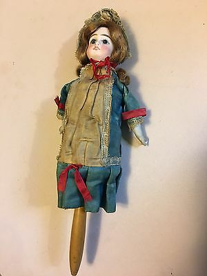 Antique Doll Marrotte. Musical Photographers Doll