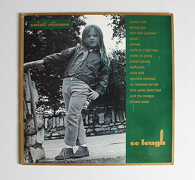SAINT ETIENNE So Tough LP (1993) HEAVENLY LABEL Cleaned / Tested...