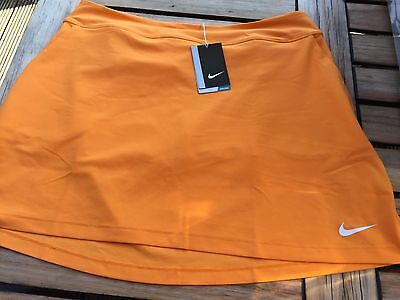 Nike Ladies Golf Tennis Skirt Pull on Skort Size Large Fully Lined Brand New