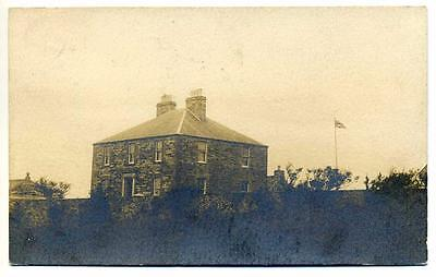 Old Scottish Postcard A Kirkwall House  (Unidentified) Orkney 1907