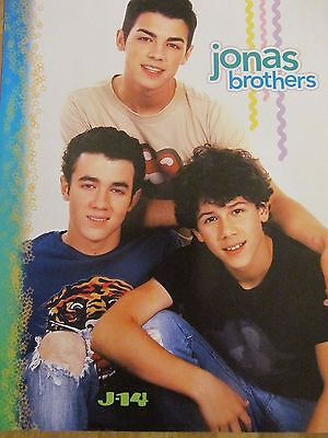 The Jonas Brothers, Zac Efron, Double Full Page Pinup