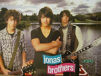 The Jonas Brothers, Ashley Tisdale, Double Full Page Pinup