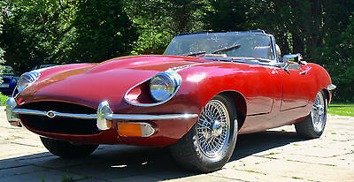 1969 JAGUAR 'E' TYPE 4.2 Series II Roadster Manuel