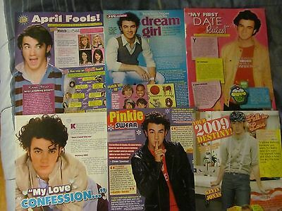 Kevin Jonas, The Jonas Brothers, Lot of SIX Full Page Clippings