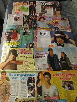 Joe Jonas, The Jonas Brothers, Lot of TEN Full and Two Page Clippings