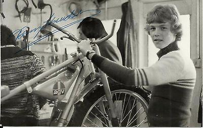 TOMMY KNUDSEN (Coventry Bees), glossy b/w photo, ORIGINALLY SIGNED!