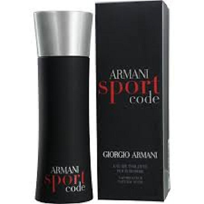 Giorgio Armani Code Sport For Him 75Ml Eau De Toilette Spray - Brand New, Sealed