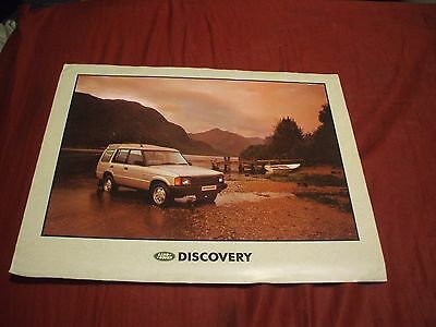UNDATED LAND ROVER DISCOVERY Car Brochure - (UK MARKET)