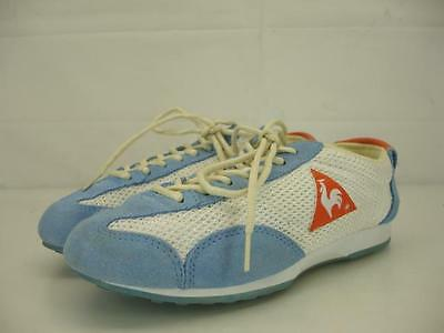 01f50842dd35 MENS 5 37 womens 6 Le Coq Sportif Omega Original shoes sneakers mesh blue  white -  16.00