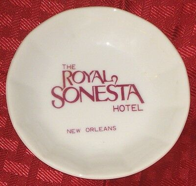 Royal Sonesta Hotel New Orleans Butter Pat Plate Free Ship