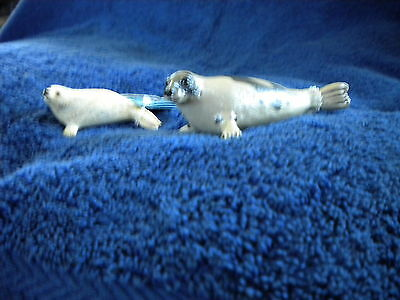 HARP SEAL & PUP by Safari Ltd;toy/seals/RETIRED