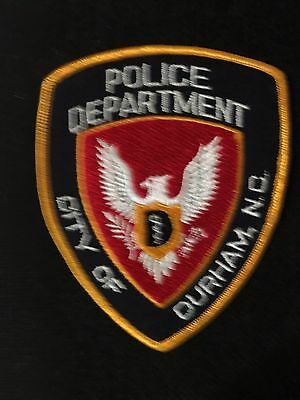 Durham  North Carolina Police  Shoulder Patch