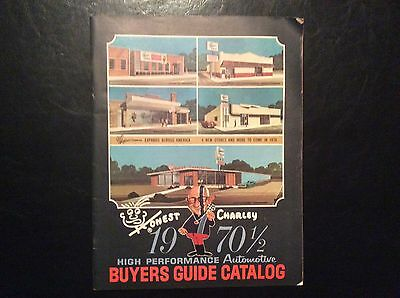 HONEST CHARLEY SPEED SHOP 1970 1/2 buyers guide catalog excellent