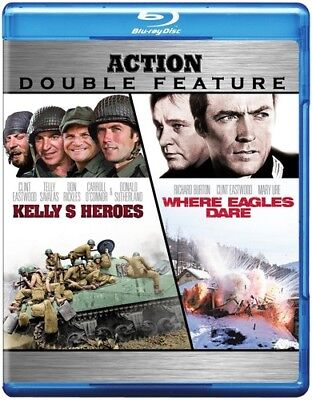 Kelly's Heroes & Where Eagles Dare [New Blu-ray]