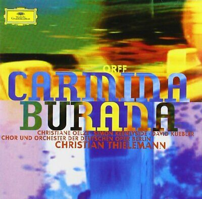 Orff: Carmina Burana -  CD AMVG The Cheap Fast Free Post The Cheap Fast Free