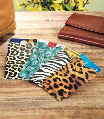 Zip-Up Rfid-Blocking Id/credit Card Wallets -  Unisex - Various Style And Colors