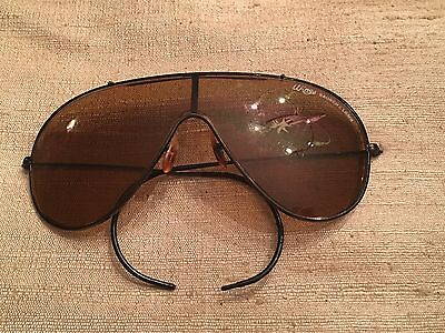 Rare Vintage Bausch & Lomb Ray Ban Wings Outdoorsman Shooter Aviator Sunglasses