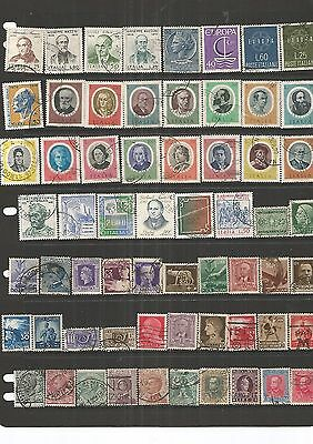 Italy 62 Used Stamps  , Nice,See Scan.