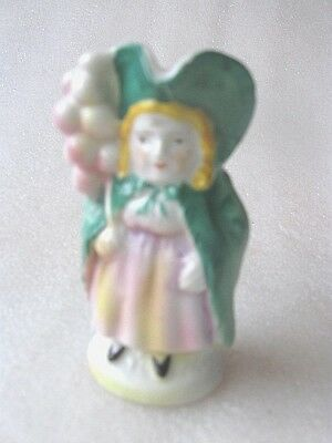 ANTIQUE RARE MINI TOBY JUG BALLOON LADY 3 inch (7.6cm) VGC