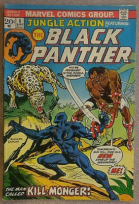 **Jungle Action #6**  BLACK PANTHER! CIVIL WAR MOVIE! 1st APPEARANCE KILL-MONGER