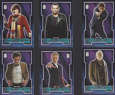 200 Card Complete Basic / Base Set Entire 50 Year Run Doctor Who 2015 Topps