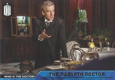 D-12 12th Twelfth Peter Capaldi Who is the Doctor Foil Chase Doctor Who 2015