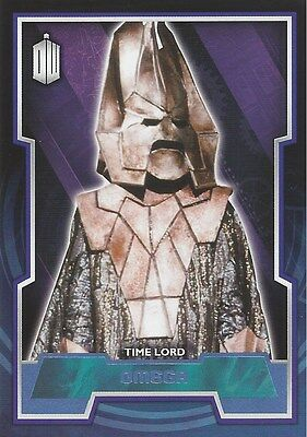 Parallel Base Card Blue 15 #168/199 Time Lord Omega Doctor Who 2015 Topps