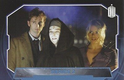 Parallel Base Card Blue 194 #084/199 Series 2 10th Rose Doctor Who 2015 Topps
