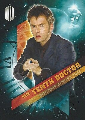 Doctors Across Time 10 of 13 Tenth Doctor Who Timeless 2016 Topps David Tennant