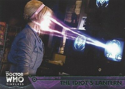 GREEN Parallel 51 Idiot's Lantern Rose 10th Tenth Doctor Who Timeless 2016 Topps