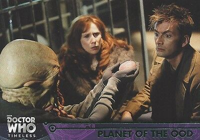 GREEN Parallel 61 Planet of the Ood 10th Donna Doctor Who Timeless 2016 Topps