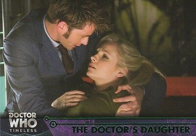 GREEN Parallel 62 The Doctor's Daughter 10th Doctor Who Timeless 2016 Topps