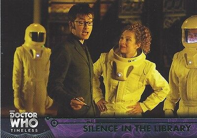GREEN Parallel 63 Silence in the Library 10th River Doctor Who Timeless 2016