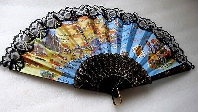 Ladies Hand Fan  Decorative Costa Brava   Perfect