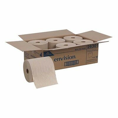 Georgia-Pacific High-Capacity Envision Paper Towel Rolls 1-Ply Natural 6ct