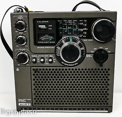 Sony ICF-5900W Classic Analog Shortwave Radio **GREAT 1970's UNIT**