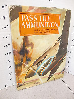 PASS THE AMMUNITION WWII 1943 war story comic book Alex Schomburg art DJ,soldier