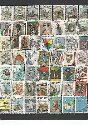 Italy 49 Used Stamps , Nice Lot ,See Scan.