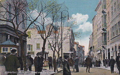 Gibraltar - Waterport Street and The Exchange
