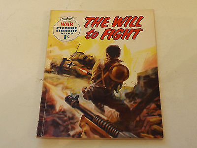WAR PICTURE LIBRARY NO 168!,dated 1962!,GOOD for age,great 55!YEAR OLD issue.