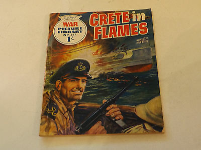 WAR PICTURE LIBRARY NO 327!,dated 1966!,GOOD for age,great 51!YEAR OLD issue.