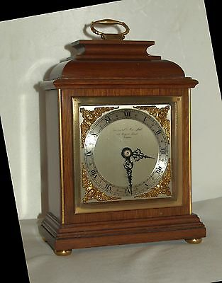 ELLIOTT / GARRARD & Co, REGENT ST, LONDON ;  MANTLE CLOCK