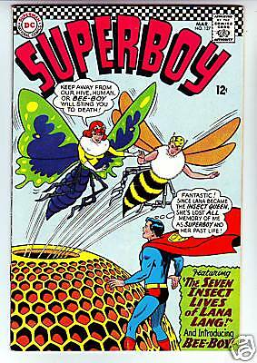 Superboy #127 strict VF- 8.0 High-Grade  Tons of Legion and Supes just listed