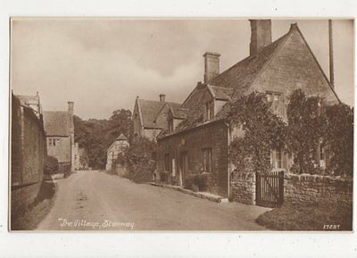 The Village Stanway Vintage Postcard 518a