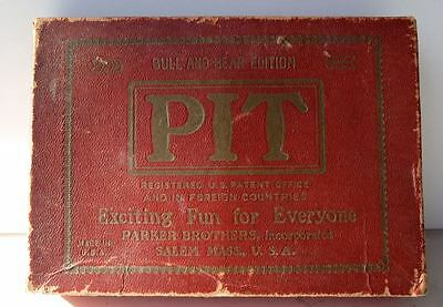 Vintage Parker Brothers PIT Card Game - Original Early Version, complete in box