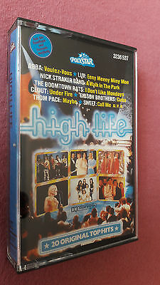 Musikkassette High Life, 20 Original Top Hits, Polystar, 1979