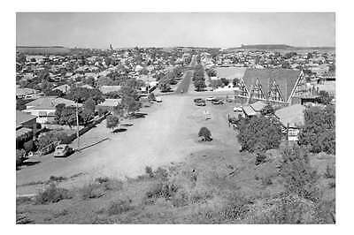 nsw BROKEN HILL Elevated view 1959 modern digital Photo Postcard