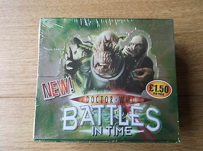 Doctor Who Battles In Time Ultimate Invader Factory Sealed Hobby Box